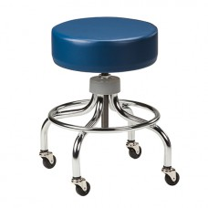 Clinton Chrome Base Stool Model 2102