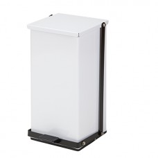 Clinton 32 Quart Premium White Waste Receptacle Model TP-32W