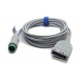 Mindray 3/5 Lead ECG Cable, 12 pin - 10ft. -  0010-30-42719
