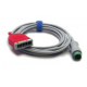 Mindray 3/5 Lead ESIS ECG Cable, 12 pin - 10ft. -  0010-30-42723