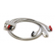 Mindray 3 Lead ECG Pinch Clip Lead Wires - Adult/Pediatric - 24in. -  0010-30-42726