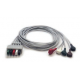 Mindray 5 Lead ECG Snap Lead Wires - Adult/Pediatric - 40in. -  0010-30-42735