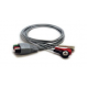 Mindray 3 Lead Mobility ECG Snap Lead Wires - 24in. -  0012-00-1503-05