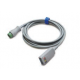 Mindray 3/5 Lead ECG Mobility Cable, 12 pin - 040-001416-00